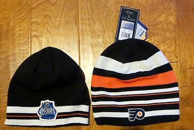 Nhl Winter Classic Reebok 2012 Philadelphia Flyers Knit Hat/ Beanie- New W/tags