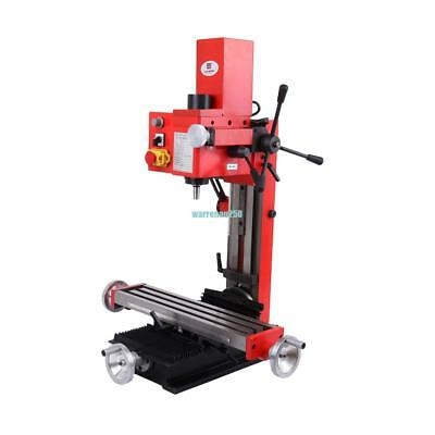 Mini Milling Drilling Machine With Gear Drive 550W Motor Mill Tool Vertical