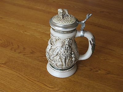 Avon Great Dogs Of The Outdoors Stein - 1991
