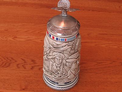Avon Trbute To The American Armed Forces Stein - 1990