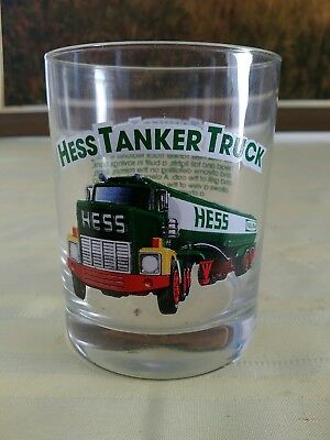 Hess 1996 Classic Truck Series 1984 Tanker Truck Vintage Glass Tumbler Collector