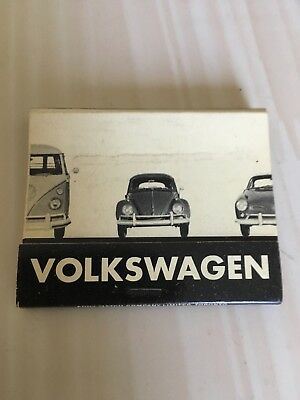 early VW matchbook - advertising ca 1960s