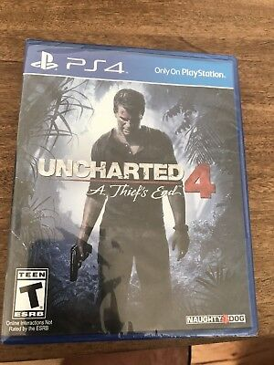 Uncharted 4: A Thief's End Game for Playstation 4