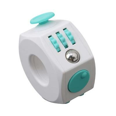 Fidget Magic Cube Spinner Adults Children Anti-stress Plaything ABS Toy New LA