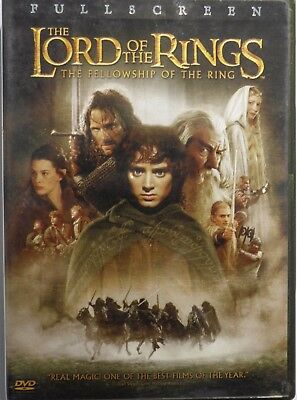 Dvd - Lord Of The Rings - The Fellowship Of The Ring