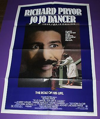 Jo Jo Dancer Your Life Is Calling One Sheet Movie Poster Richard Pryor