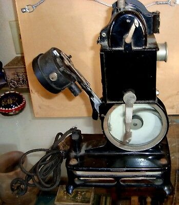 Old Antique Rare Vintage PATHEX 9.5mm Film Movie Projector 17128 Made In France