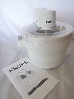 KRUPS GVS1-Automatic Ice-Cream Maker, white by KRUPS