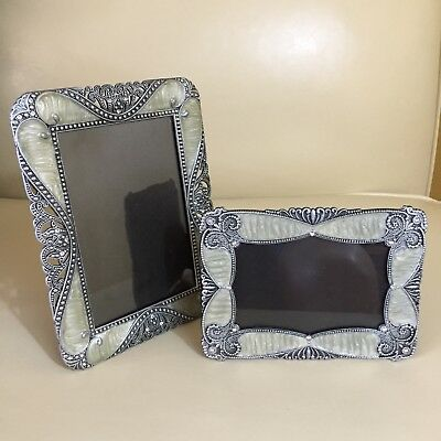 SHEFFIELD~Victorian Style Picture Frames-Set of 2-Pre owned Beautiful!