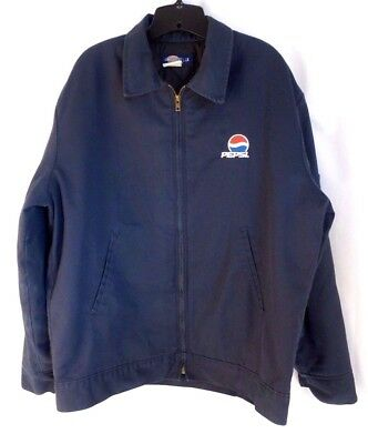 Pepsi Cola Coat Delivery Driver Work Uniform Dickies Jacket Coat Fully Lined LRG