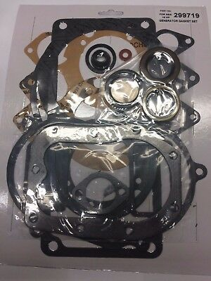 Gasket Set With Seals Fits Briggs And Stratton 320400, 300432 Cast Iron Engines