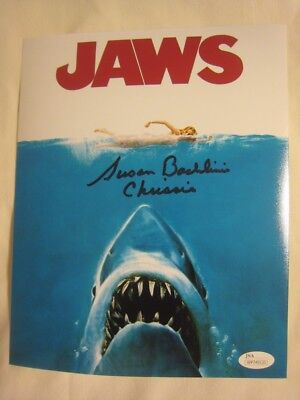 Susan Backline - Chrissie - Signed JAWS 8x10 Photo Poster - JSA (WP) COA