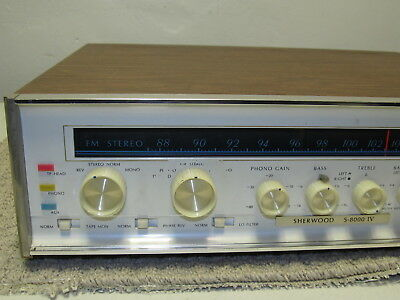 Vintage Sherwood S-8000 IV Stereo FM MPX Tube Receiver