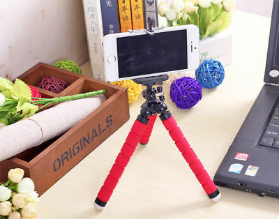 Octopus Tripod Flexible Mini Stand Holder Sponge For Phone Samsung iPhone Camera