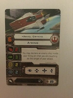 Star Wars X Wing Miniatures Game Rebel A Wing Arbil Crynyd