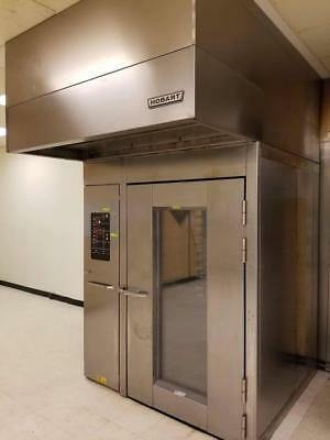 Baxter Hobart HBA2E double electric rack oven and PW2E two rack proofer