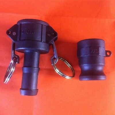 "Camlock 3/4"" (20) BSP Set 