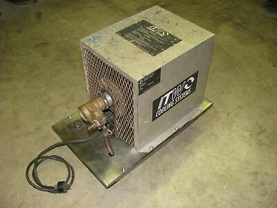 ITW COOLING SYSTEMS TIG Welding Cooler, 3 gallon, 115VAC, Used-Tested-Works