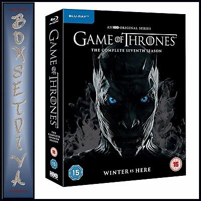 Game Of Thrones Complete Season 7 - Seventh Season  **Brand New Blu-Ray ***