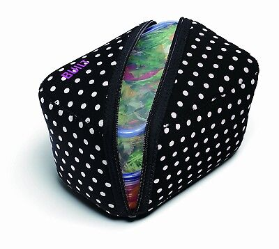 (Black and White) - BUILT NY Bento Lunch Container with Neoprene Sleeve, Mini