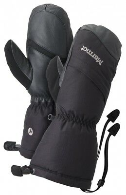 (Medium, True Black) - Marmot Women's Warmest Mitt Gloves. Best Price