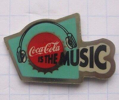 COCA-COLA / IS THE  MUSIC ................................. Pin (136c)