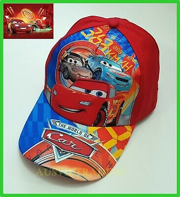 Disney Pixar Cars Lightning McQueen boys Cap / Hat Brand new cotton RED
