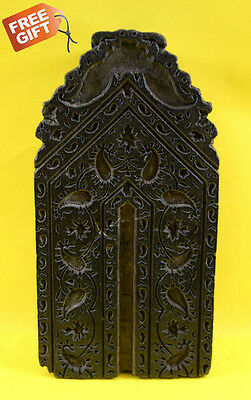 Vintage Rare Handcrafted Beautiful Design Wooden Textile Printing Block. i77-84