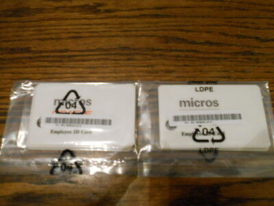 Micros Employee Sign In Cards, POS