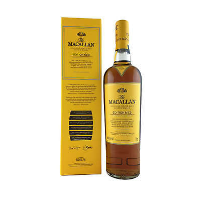 The Macallan Edition No.3 750ml 48.3% Just Released!!
