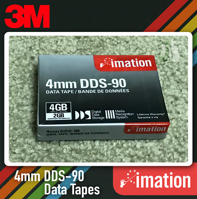 3M Imation 4mm DDS-90 Data Tape (Lot 10)