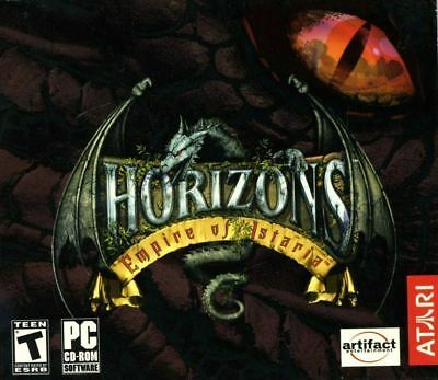 Horizons: Empire of Istaria (PC) VideoGames + 30 Day Subscription PC NEW