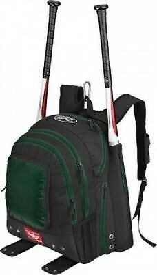 Rawlings Team Baseball/Softball Bat Pack, Dark Green. Shipping is Free