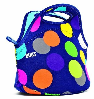 (Scatter Dot) - BUILT NY Gourmet Getaway Neoprene Mini Snack Tote, Scatter Dot