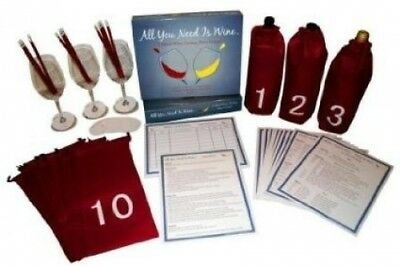 A Blind Wine Tasting Party Game! - All You Need Is Wine - Wine Game Kit