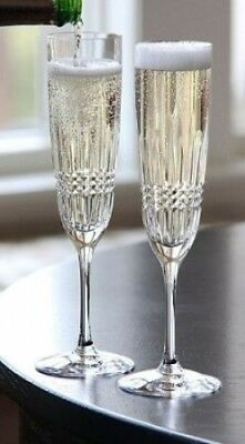 Waterford Lismore Diamond Stemware Flute. Shipping is Free