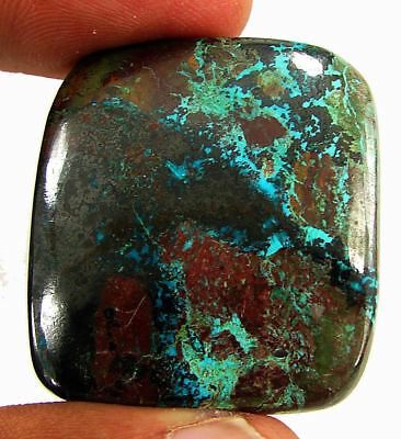 75.60 Ct Natural Azurite Loose Cabochon Gemstone Designer Stone - 18155