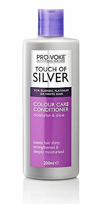 Touch Of Silver Daily Nourish Conditioner 200 Ml For Grey White Blonde Hair New