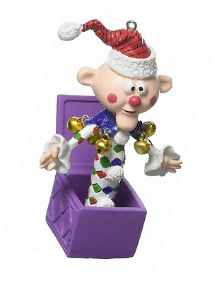 Department 56 4057973 Charlie In A Box from Rudolph Hanging Ornament