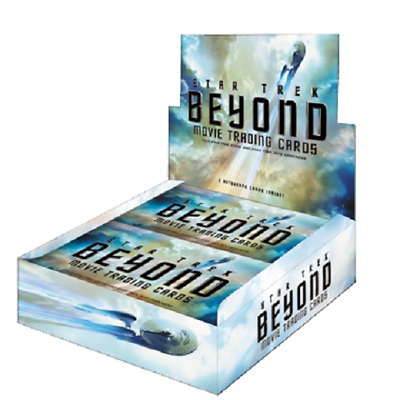 Star Trek Beyond Movie Trading Card Box OVP