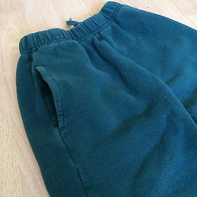 Land's End Sweatpants  Sz 5-6 Boys Athletic Youth Forest Green