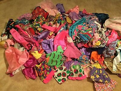 Huge Lot of 100% Authentic Barbie Clothes Every Piece Tagged Barbie