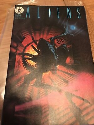 Aliens Dark Horse Comics 1-4 Number #1 #2 #3 #4 1989