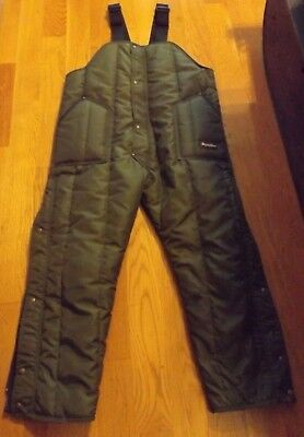 Refrigiwear Freezer Suit Overalls  up to -50F - Green XLARGER