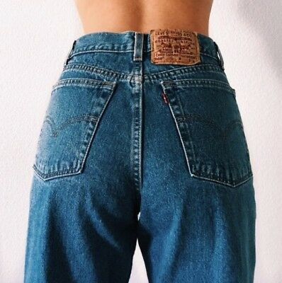 Vintage 501 High Waisted Button Fly Levi's