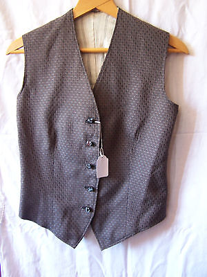 Genuine Vintage Child Youth Waistcoat Jacket Sleeveless