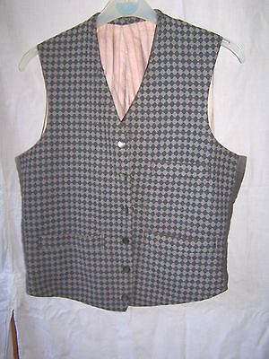 Rare Genuine Vintage Childs Waistcoat Gilet Jacket Sleeveless
