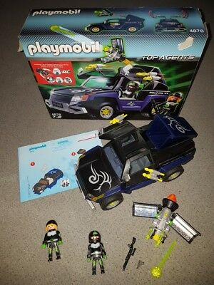 Robo-Gangster SIV  (Top Agents Playmobil 4878, OVP)