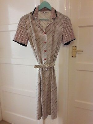 Rare 1960's Madmen style dress made in France