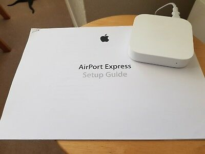 Apple Airport Express 2nd generation A1392 in white
